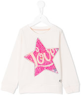 American Outfitters Kids - sequin star sweatshirt - kids - Cotton - 4 yrs