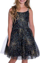 Zoe Girl's Firework Sparkle Skater Party Dress, Size 7-16