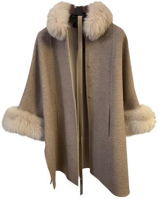 Loro Piana Beige Cashmere Coats