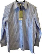 Dagmar Blue Cotton Top for Women