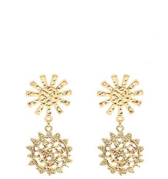 Bling Bar Girasole Statement Earrings