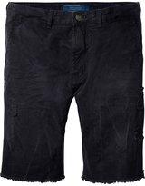 Scotch & Soda Damaged Shorts - Black
