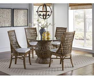 Panama Jack Sunroom Old Havana 6 Piece Dining Set Sunroom Chair Color: Sunbrella Spectrum Almond