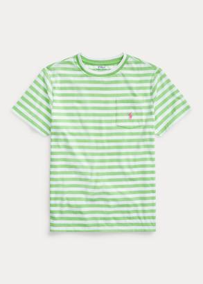 Ralph Lauren Striped Cotton-Blend Tee
