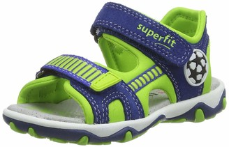 Superfit Boys/' Henry Ankle Strap Sandals, Grau 20 8 UK