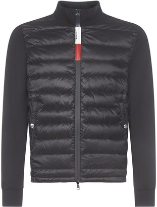 Moncler Quilted Panelled Jacket