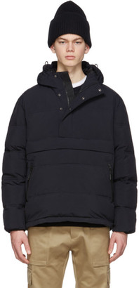 The Very Warm Black Anorak Puffer Jacket