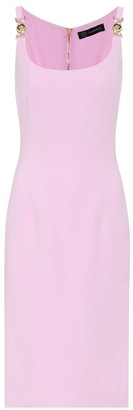 Versace Exclusive to Mytheresa Stretch-crepe midi dress