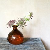 Graham and Green Bubble Vase In Russet