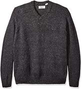 Original Penguin Men's Big and Tall Raglan Donegal Sweater