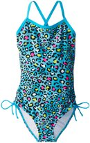 Kanu Surf Big Girls' Splash One Piece Swimsuit