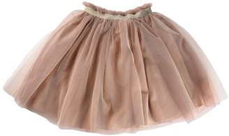 Zhoe & Tobiah Skirt In Natural Tulle