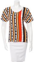 Peter Pilotto Silk Printed Blouse