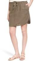 Women's Caslon Easy Linen Skirt