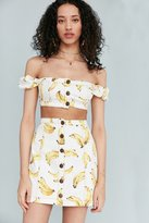 Cooperative Nanners Off-The-Shoulder Cropped Top
