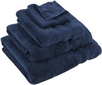 Essentials Pima Towel - Navy - Face Cloths - Set of 3