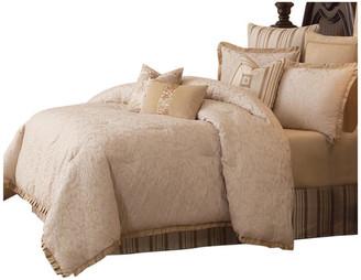 Michael Amini Carlton Comforter Set, Queen, 9-Piece Set