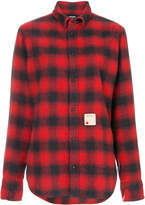 DSQUARED2 relaxed fit checked shirt