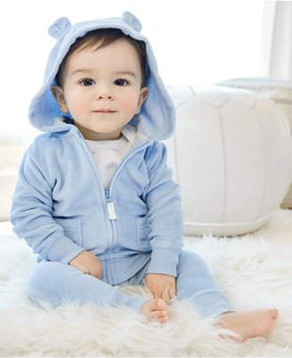 Carter's Carter Baby Boys Zip-Front Hoodie, Bodysuit & Bear Pants