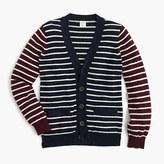 J.Crew Boys' cotton-cashmere mash-up cardigan sweater