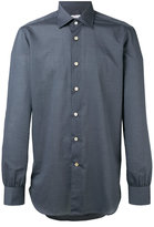 Kiton buttoned shirt - men - Cotton - 43