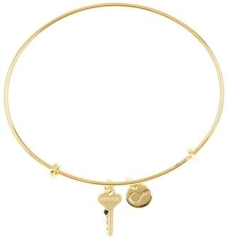 The Giving Keys Courage Key Bangle Bracelet