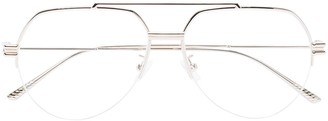 Bottega Veneta Aviator Wire-Frame Glasses
