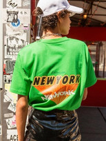 [US]UNISEX NEW YORK LOGO T-SHIRT atb146u (G