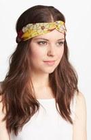 'Floral Interlock' Turban Head Wrap