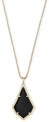 Kendra Scott Alex Long Pendant Necklace in Gold