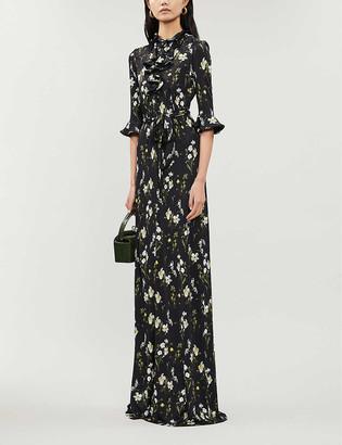 Erdem Farrell floral-print stretch-jersey maxi dress