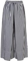 Rosetta Getty striped pleated culottes