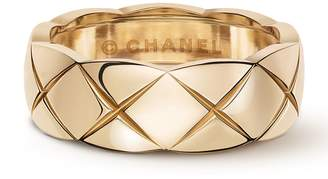 Chanel Small Beige Gold Co Co Crush Ring