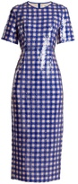 Diane von Furstenberg Cossier-print sequin-embellished dress