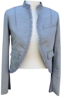 Luella Grey Cotton Jacket for Women