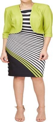 Maya Brooke Women's Plus Size Sheath