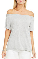 Vince Camuto Two by Off-The-Shoulder Easy Knit Top