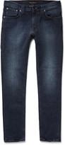 Nudie Jeans Lean Dean Slim-Fit Washed Organic Stretch-Denim Jeans