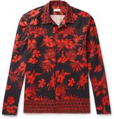 Dries Van Noten Camp-Collar Printed Cotton-Twill Shirt