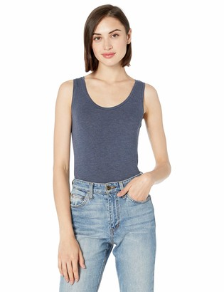 Majestic Filatures Women's Soft Touch Flat-Edge Scoop Neck Tank