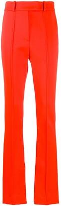 Ssheena High-Waisted Button Leg Trousers