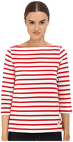 Kate Spade 3/4 Sleeve Sailor Tee