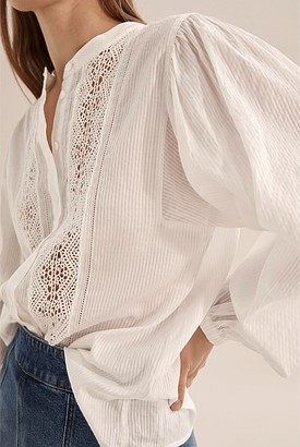 Country Road Lace Trim Shirt