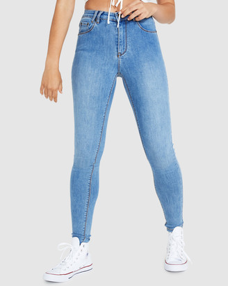 Insight Molly Mid Rise Skinny Jeans