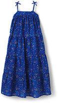 Lands' End Girls Summer Maxi Dress-Multi Sequin Stripe