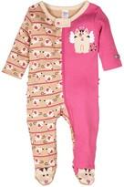 Sozo Angel Kitty Footie (Baby Girls)