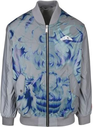 Heron Preston Skull Reflective Jacket