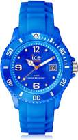 Ice Watch Ice-Watch Men's Sili SI.BE.B.S.09 Silicone Quartz Watch with Dial