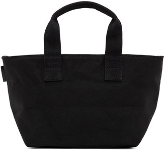 N.Hoolywood Black Small Zipped Tote