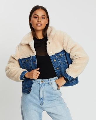 Abrand A Josie Sherpa Jacket